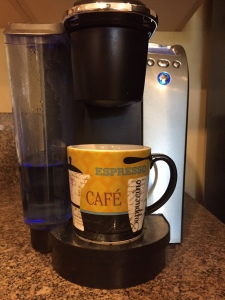 Keurig and cup