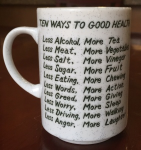 Good Health Tea Cup